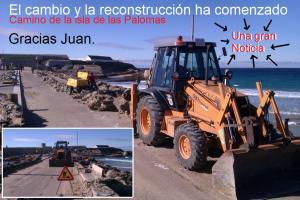 12 enero 2013 Camino de la Isla de las Palomas