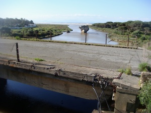 El río y el mar