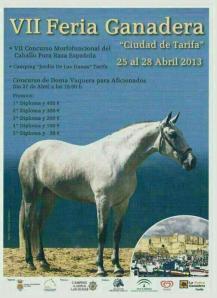 La Feria de ganado cartel 2013