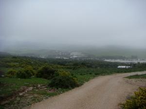 Rio Jara tiene sus orígenes en las montañas detrás de la Luz.
