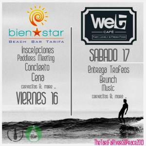 Fiesta en Bienstar y WetCafé
