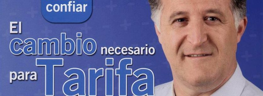 Juan Andres Gil Garcia, Alcalde de Tarifa 2013.