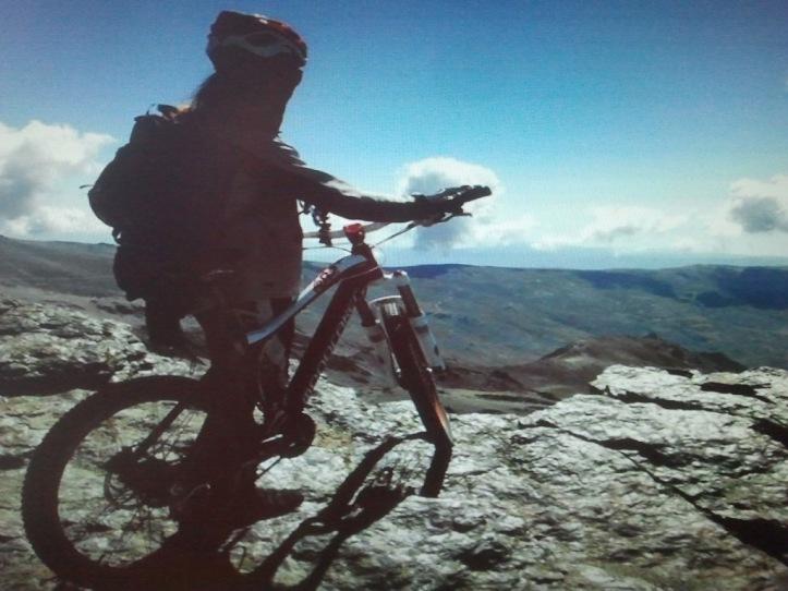 David Ruiz de la Tienda de Pumori Bike en Algeciras