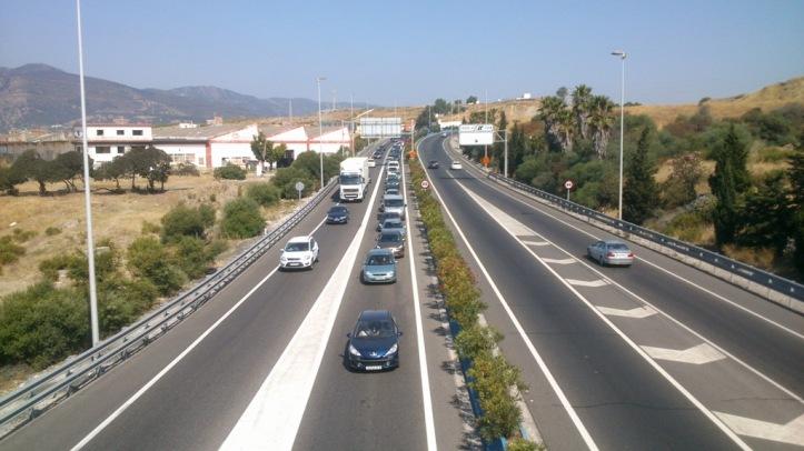 Embotellamiento del tráfico
