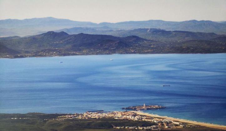 Tarifa en el Estrecho de Gibraltar