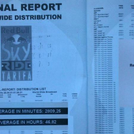 Red Bull Sky Ride 2001 Un gran éxito porque cada uno tenía su papel