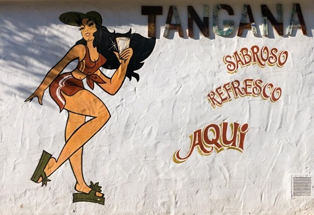 Chiringuito Tangana en la playa de Valdevaqueros