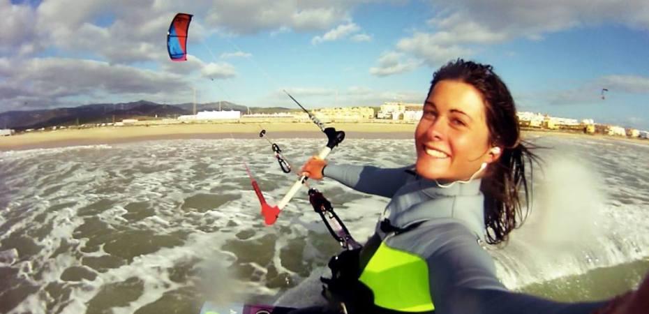 Gisela Pulido Campeon del Mundo de Kitesurfing