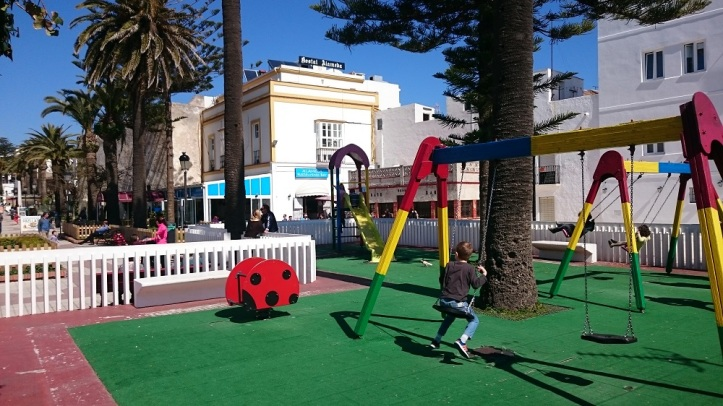 La Alameda playground para niños