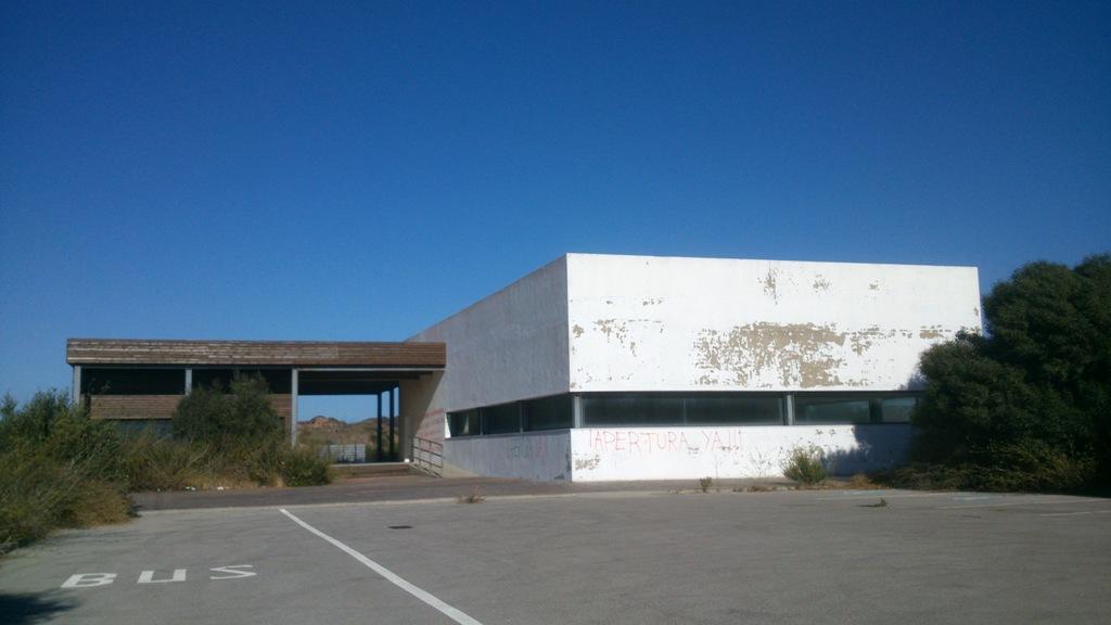 Mirador Cazalla Abandonado