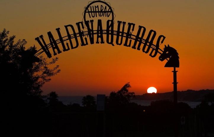 Sunset Tumbao Valdevaqueros Foto Israel Diaz