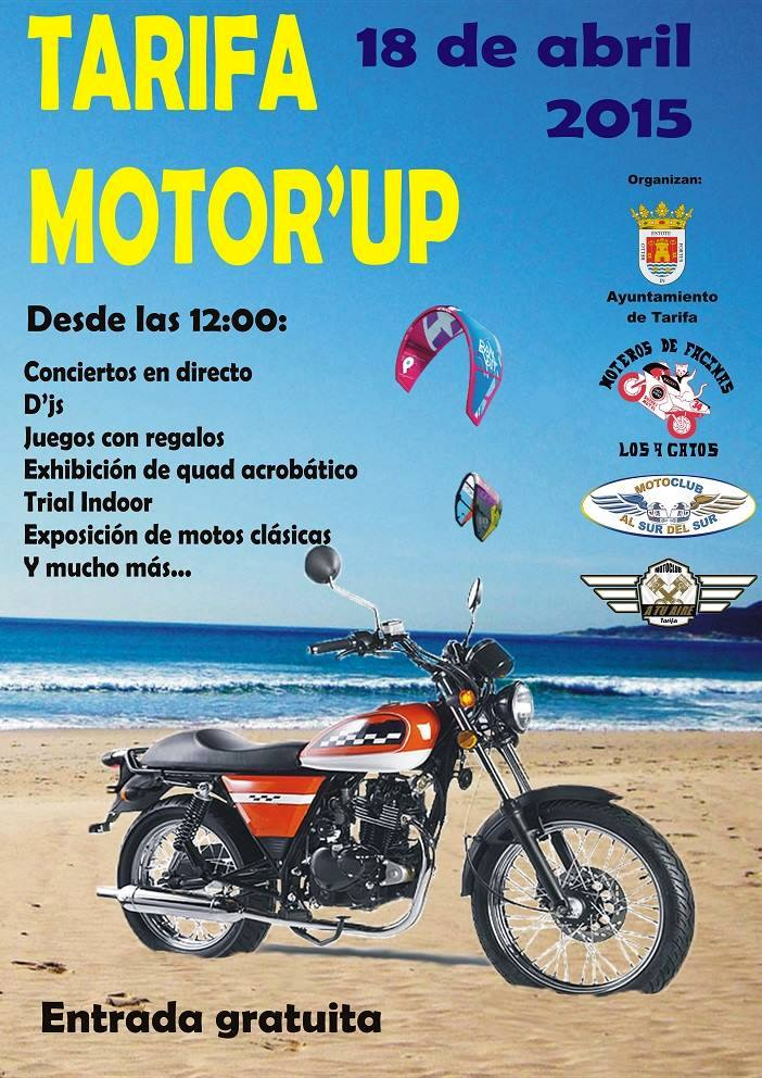 Cartel I Motor Up Tarifa 2015