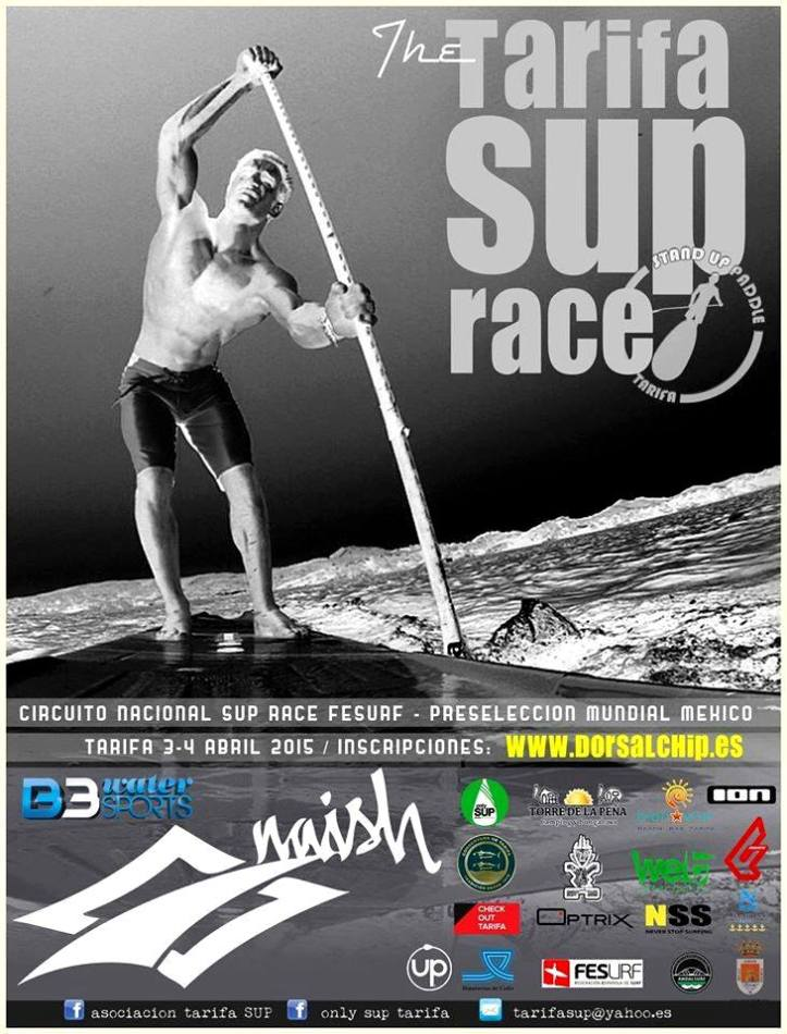 Cartel The Tarifa Sup Race