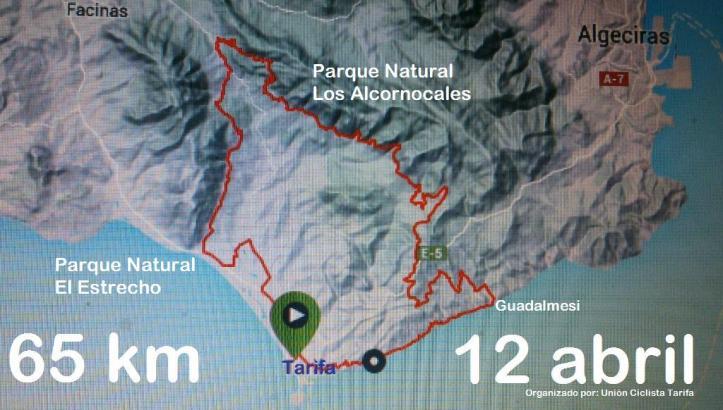 La Ruta  I Maratón Ciudad de Tarifa Entre Dos Parques 2015