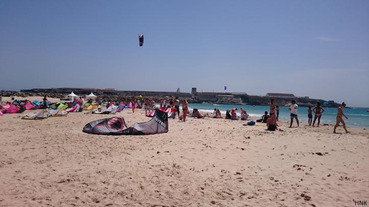 Balneario Popular Spot de Surf y Kitesurf en Tarifa