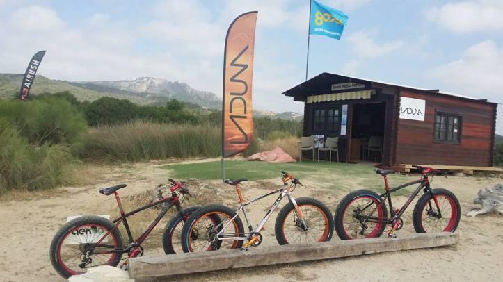 Fat bikes para alguilar en Tarifa