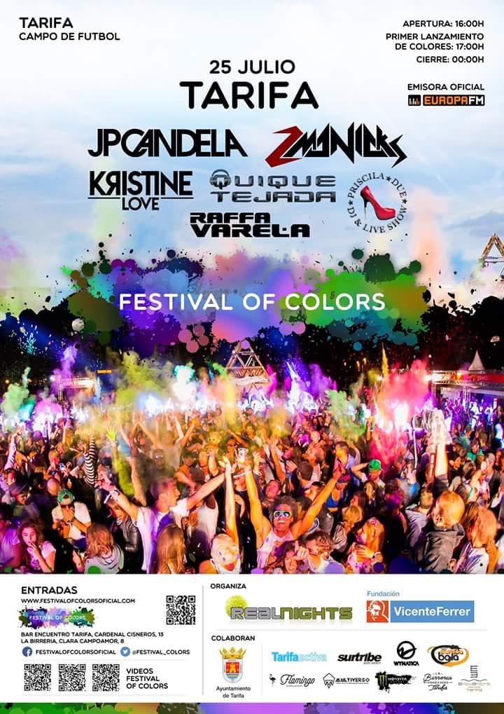 Festival of colores  en Tarifa