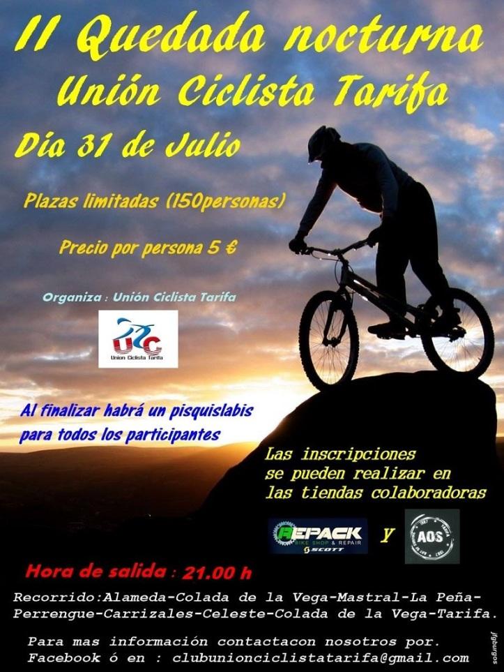 II Quedada Nocturna de Unión Ciclista Tarifa