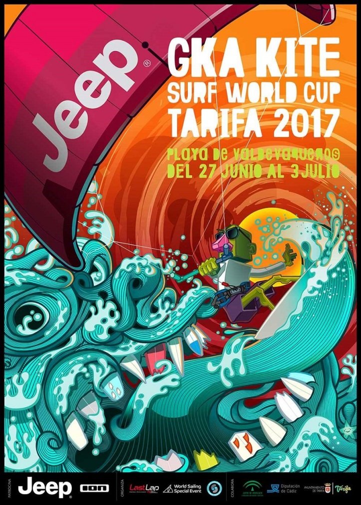 Strapless Kitesurfing World Cup in Tarifa
