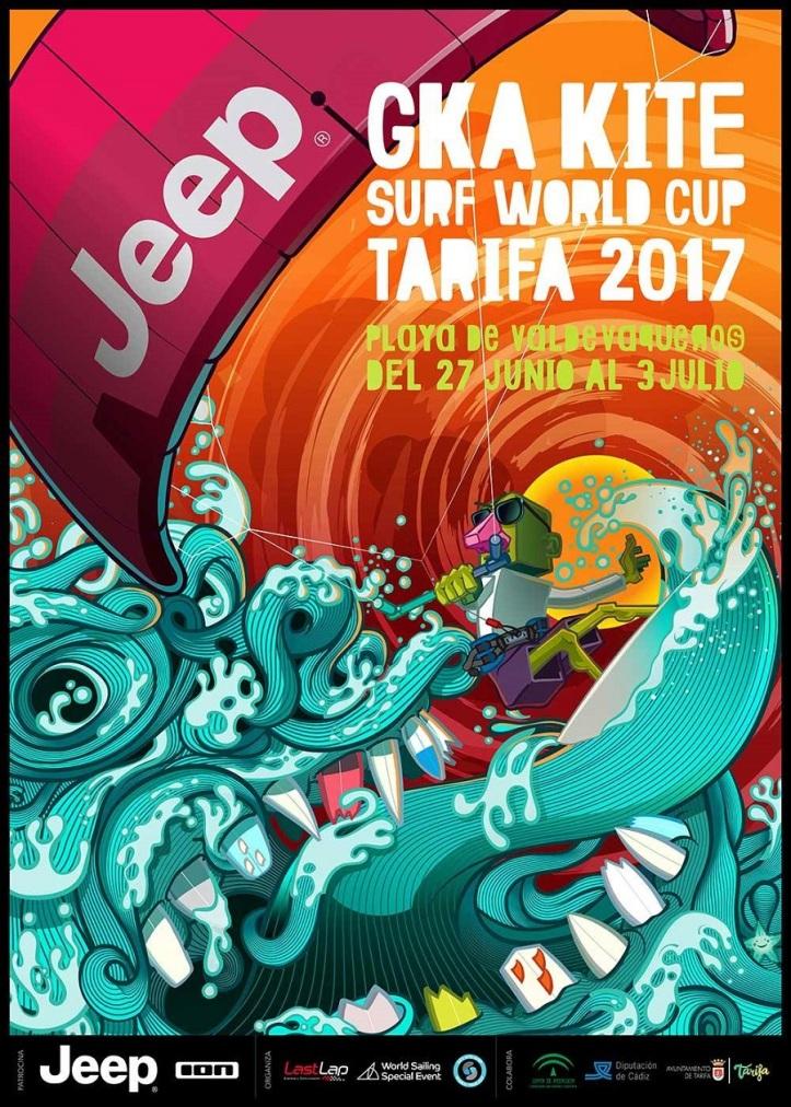 Strapless Kitesurfing World Cup in Tarifa