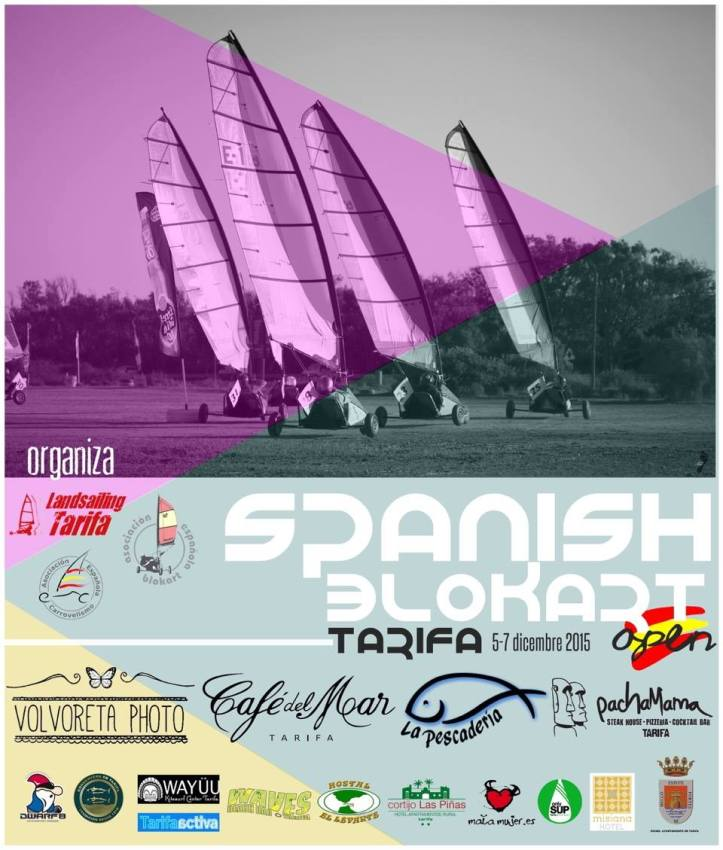 Blokart Campeonato de España en Tarifa