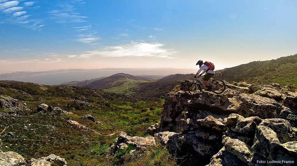 Ciclismo de montaña y la fotografía
