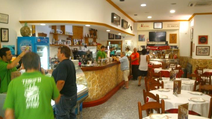 Restaurante El Ancla especializado en Comidas Sin Gluten