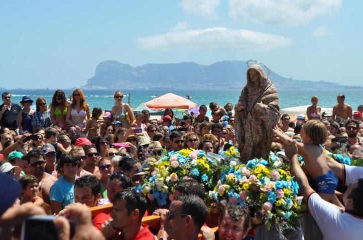 Virgen de la Palma en el  Rinconcillo