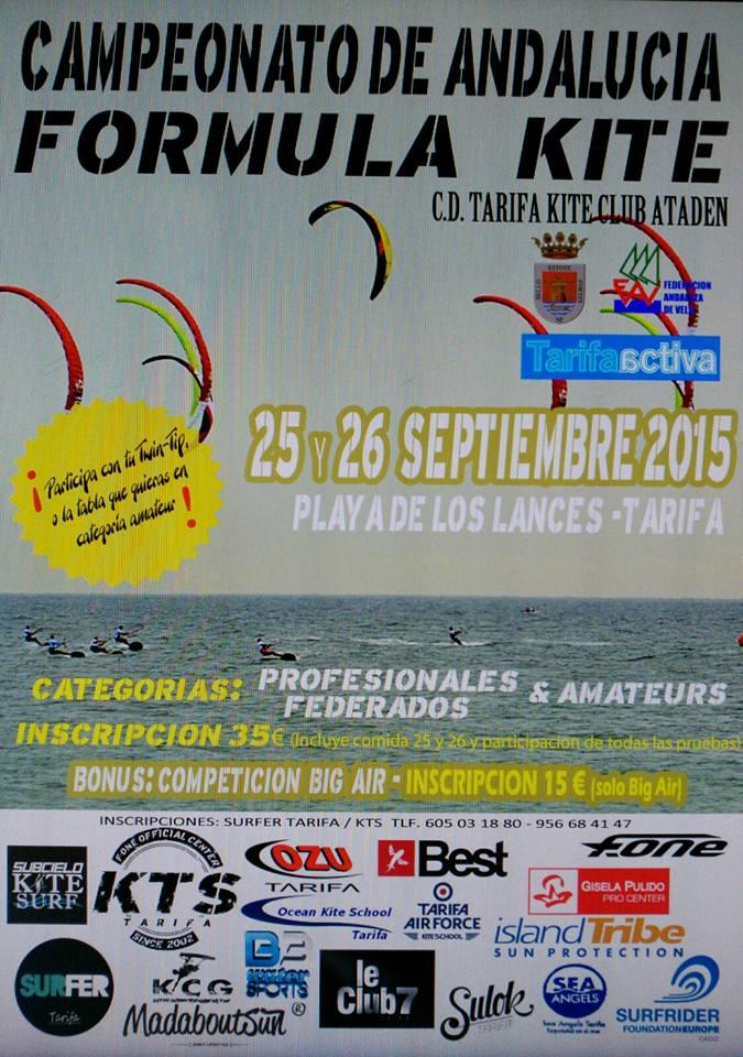 Campeonato de Andalucia Formula Kite en Tarifa