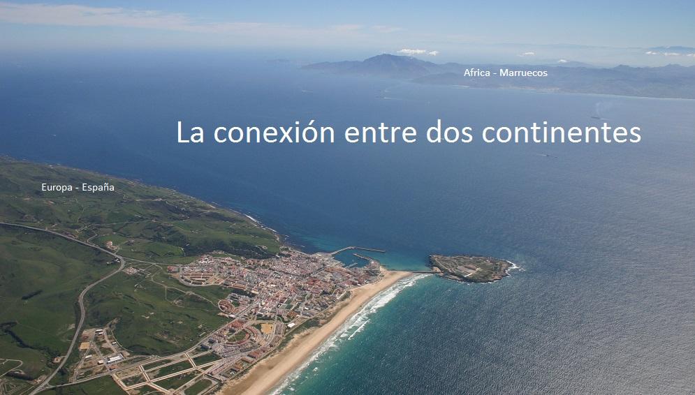 La conexión entre dos continentes en el estrecho de Gibraltar