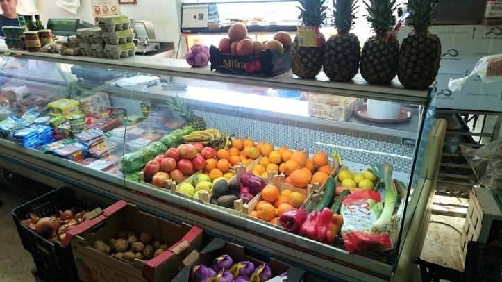 Frutas y verduras frescos