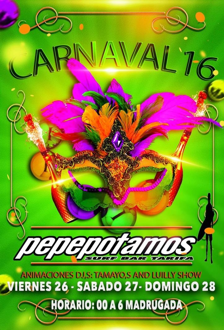 Carnaval en Bar Pepepotamos Tarifa