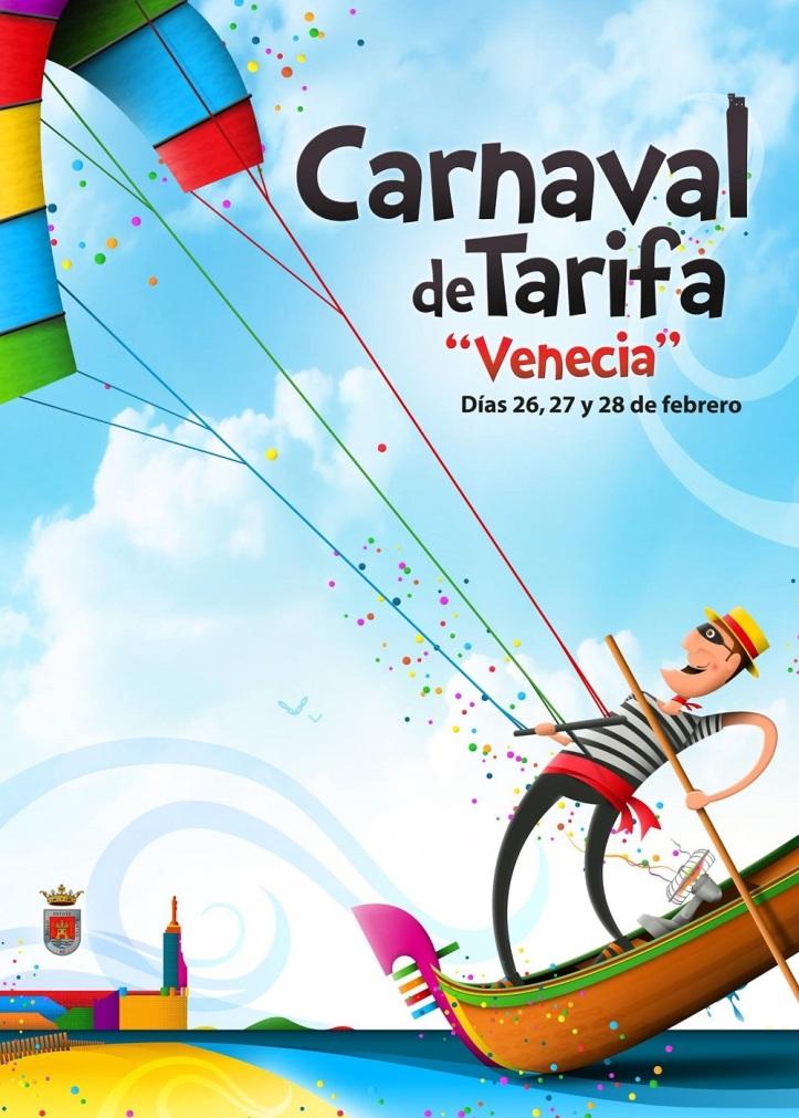 Cartel Carnaval 2016 Un diseño original de Ruben Lucas Garcas