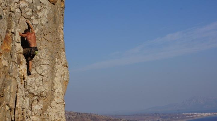 Escalada en roca en Tarifa