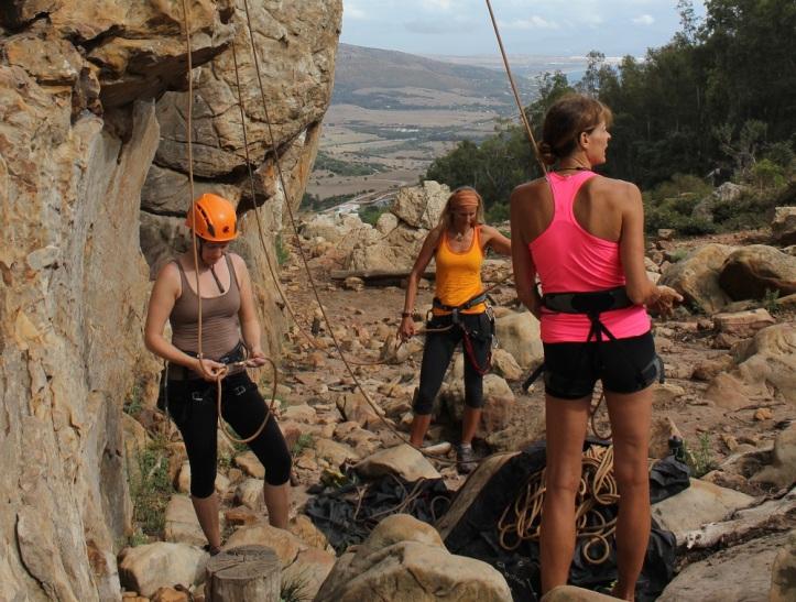 Girasol escalada en roca