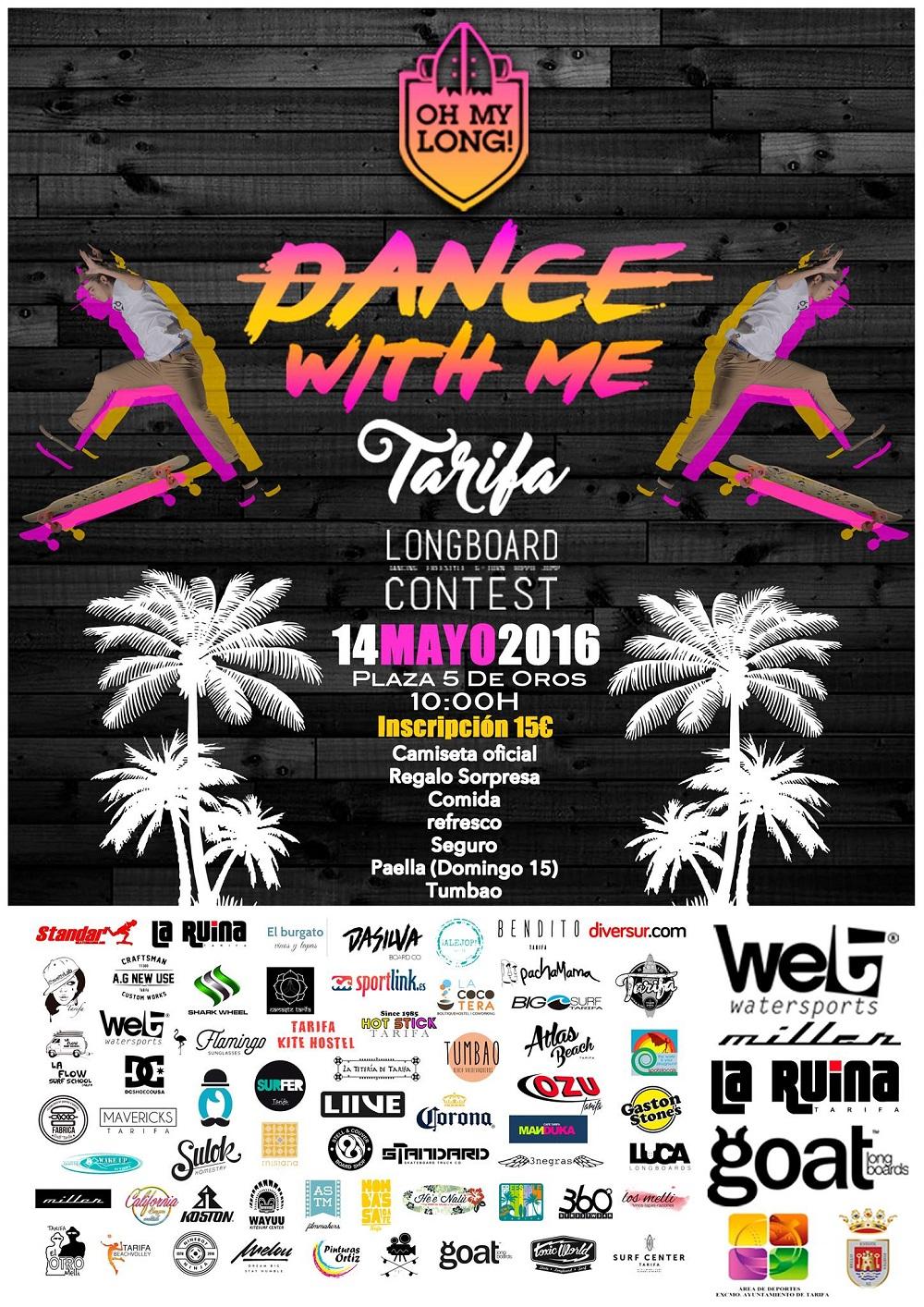 DANCE WITH ME Longboard Contest TARIFA