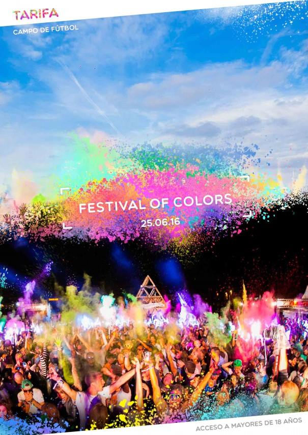 Festival of Colors en Tarifa