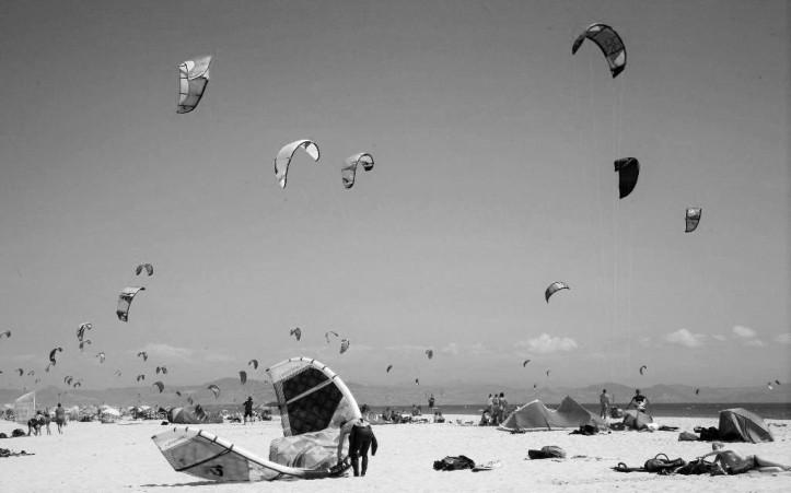 Kitesurfing en Tarifa
