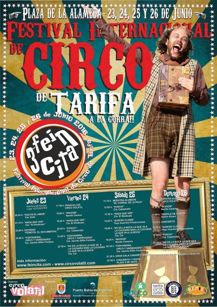 Festival Internacional Circo de Tarifa 2016