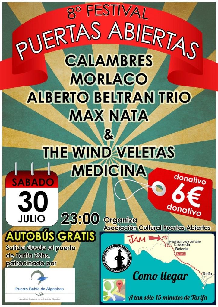 Festival Puertas Abiertas 2016 en cruce Bolonia