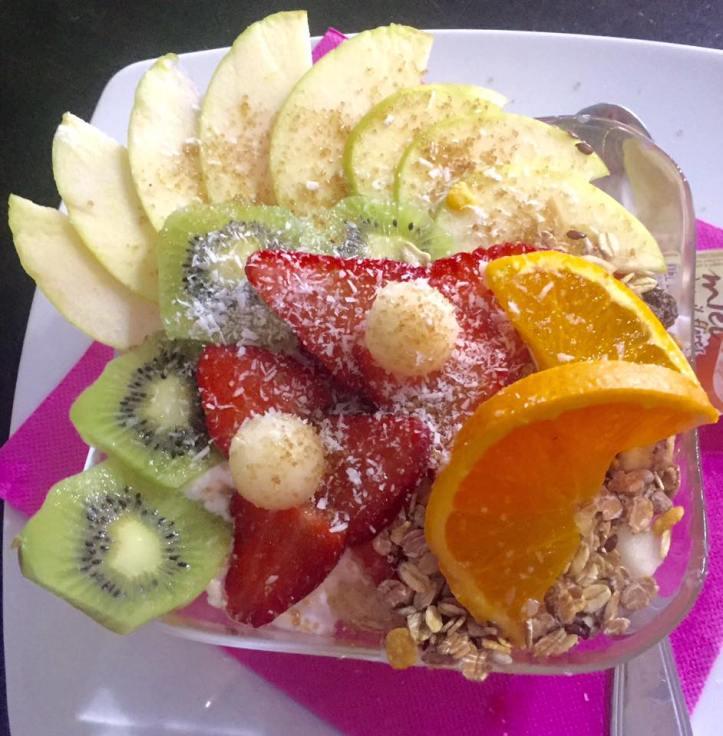 La buena y sana comida de Manduka