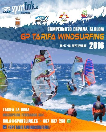 Campeonato de Windsurfing Slalom en Tarifa