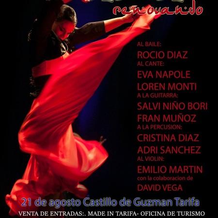 Espectaculo Flamenco en el Castillo