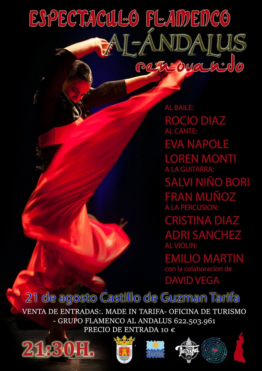 Espectaculo Flamenco en el Castillo