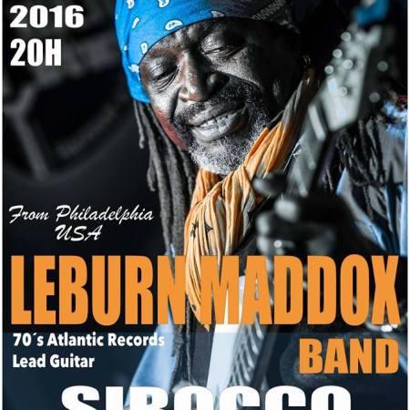 Leburn Maddox Band en Sirocco Bolonia, Tarif