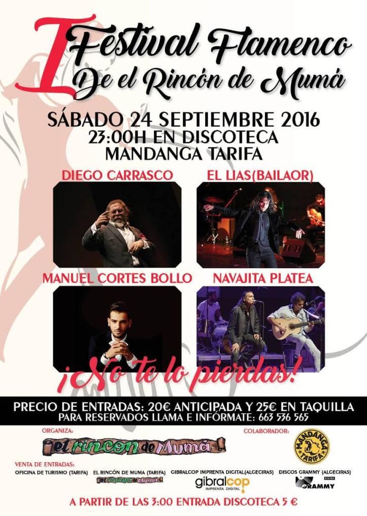 Festival Flamenco de el Rincón de Muma