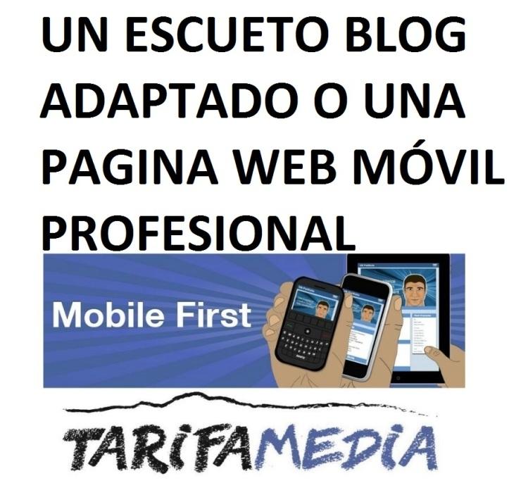Paginas Web Móviles de Tarifa Media