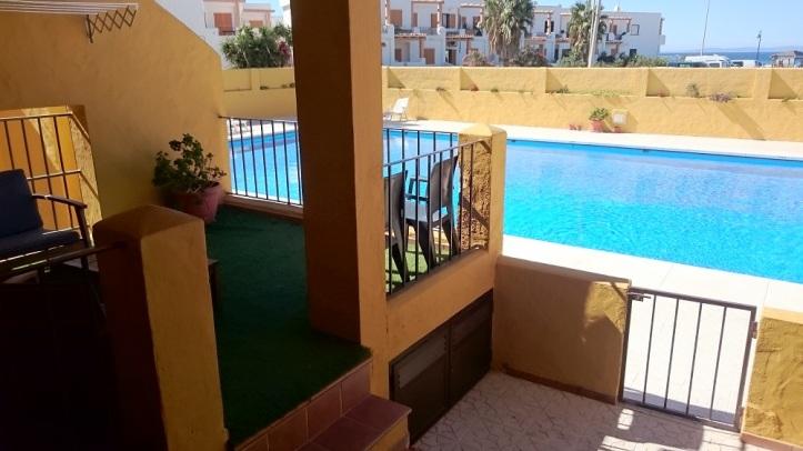 Las Cañas Tarifa Apartamento con piscina y vitas al mar