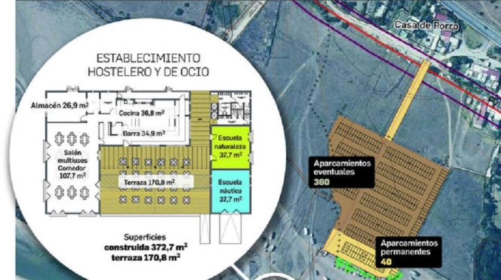 Nuevo aprarcamiento y chiringuito en Valdevaqueros Tarifa