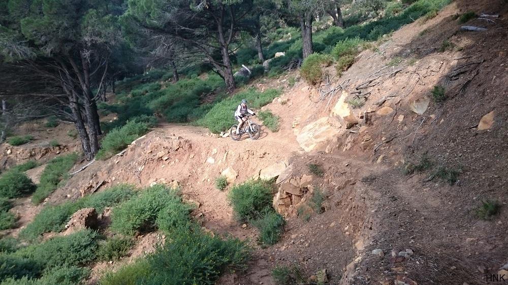 Ciclismo de Montaña en la zona de La Peña